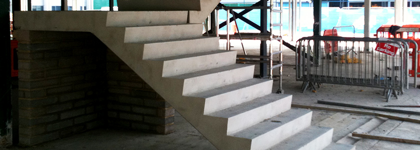Precast Concrete Stairs - TT Concrete Products