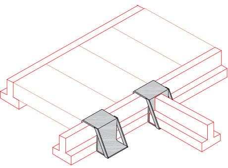 Shoe Hanger & Trimmer - Concrete Beam accessories