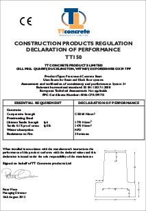CE Mark & DOP - Floor Beams