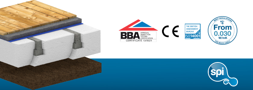 Stylite T-Beam Floor Insulation
