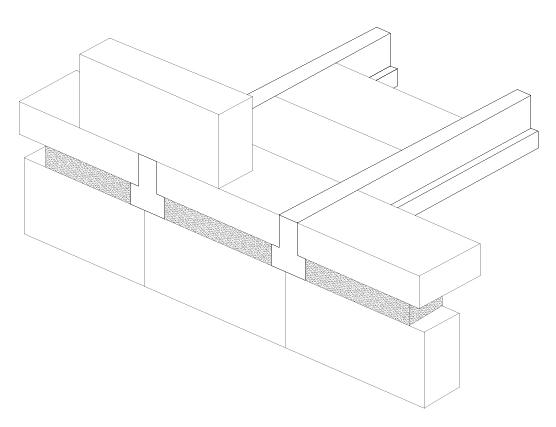 Coursing/Slip Brick - Concrete Beam accessories