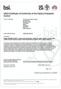 UKCA Certificate