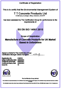 Downloads ISO 14001 Certificate